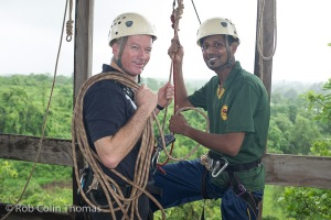 Steve Waugh + Rehman - Magic Bus Centre Zip Wire